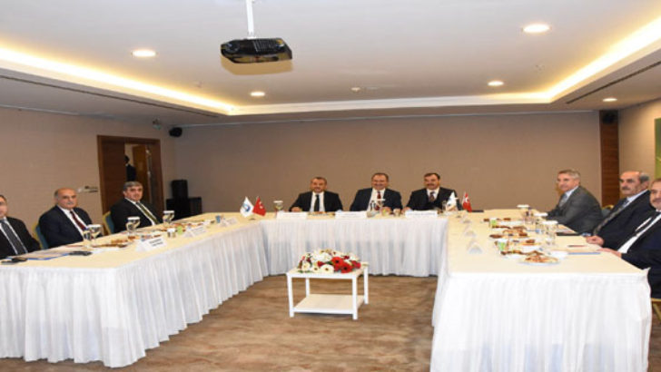 FKA Yönetim Kurulu Toplantısı Elazığ'da Gerçekleştirildi