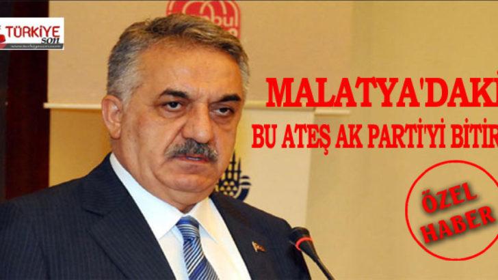Malatya'daki Bu Ateş Ak Parti'yi Bitirir