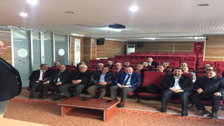 Adıyaman Belediyesi Yönetiminden Değerlendirme Toplantısı