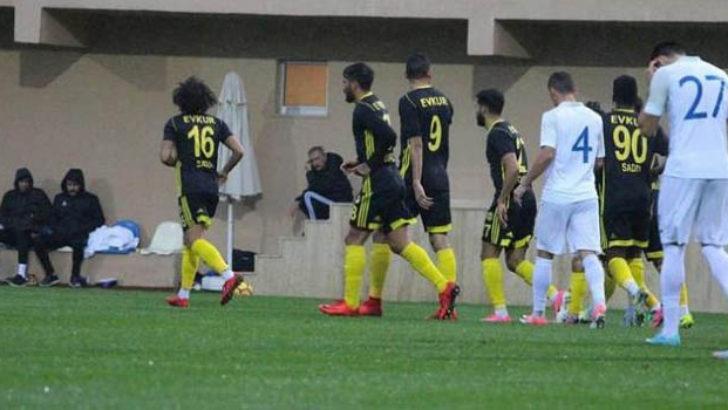 Malatya hazırlık maçında üçledi