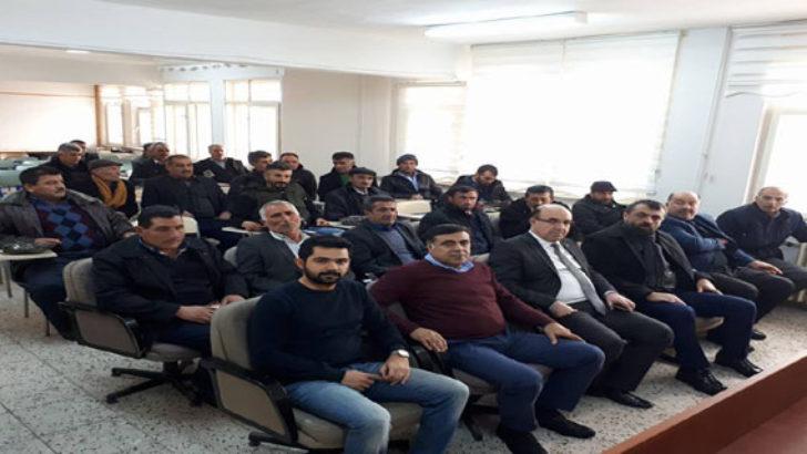 Yazıhan ve Arapgir İlçelerinde Proje Toplantıları Düzenlendi