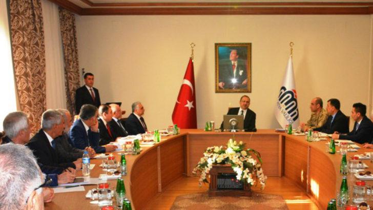 Vali Kaban'dan toplantı