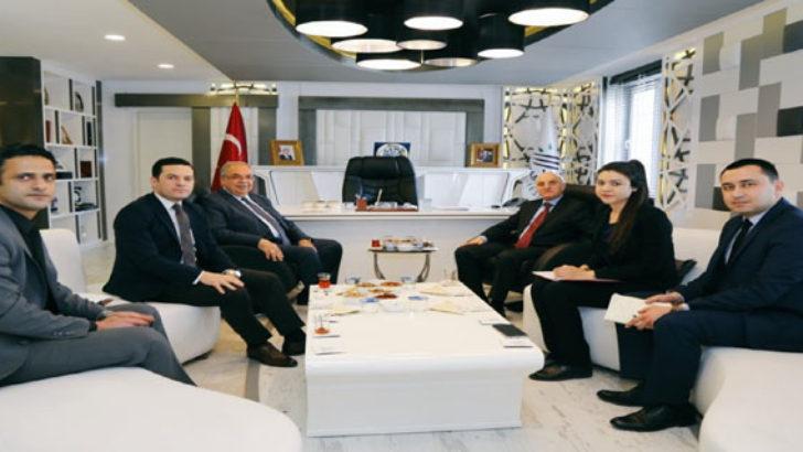 Müsteşar Yardımcısı Erdil'den Başkan Kutlu'ya Ziyaret