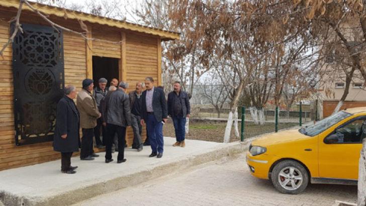 Arguvan'da Taksiciler İçin Yazıhane Kuruldu