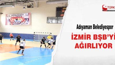 Adıyaman Belediyespor, İzmir BŞB'yi Ağırlıyor