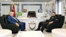 Emniyet Müdürü Alper'den, Başkan Kutlu'ya Ziyaret