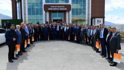Başkan Çınar, Yeşilyurt'un Yeni Muhtarlarıyla ' İstişare' Toplantısında Biraraya Geldi