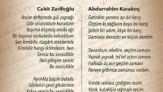 Abdurrahim Karakoç ve Cahit Zarifoğlunun Ölüm yıldönümü.