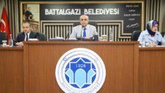 Battalgazi belediye meclisi,haziran ayı olağan toplantısını yaptı