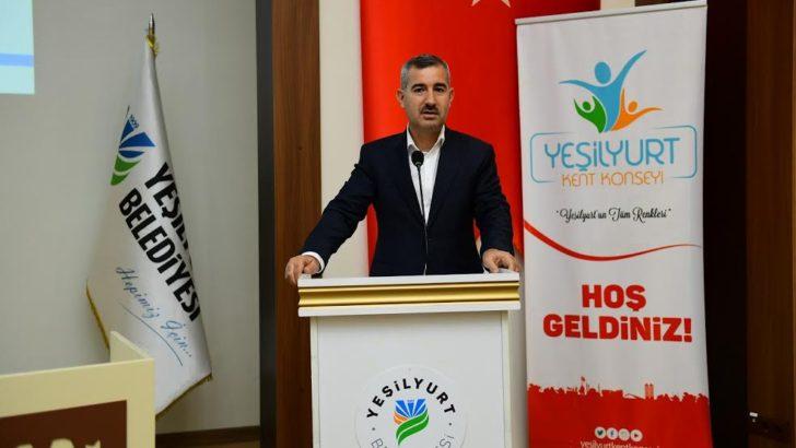 Yeşilyurt Belediye Başkanı Mehmet Çınar, Yeşilyurt Kent Konseyi Başkanı Seçildi