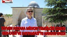 TAYVAN ANKARA MİSYON TEMSİLCİSİ CHENG, ULU CAMİ VE BATTALGAZİ'YE HAYRAN KALDI