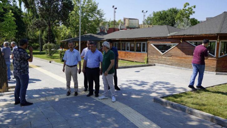 Belediye Başkanı Kılınç, Mimar Sinan Parkı Projesini İnceledi