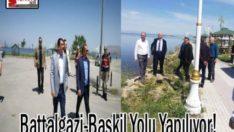 Battalgazi-Baskil Yolu Yapılıyor!