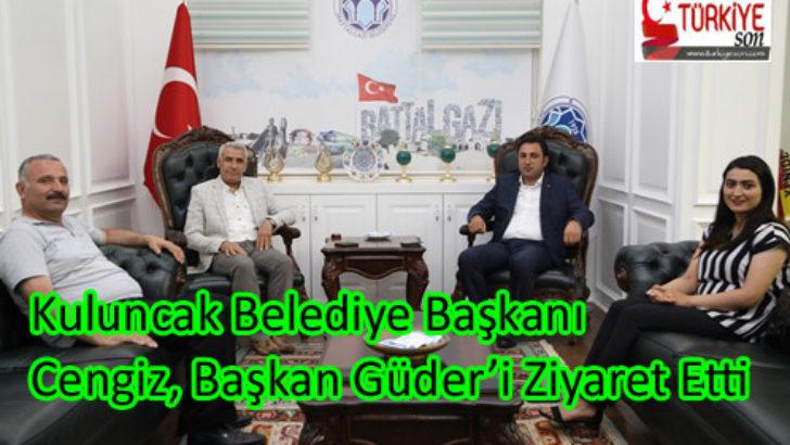 Kuluncak Belediye Başkanı Cengiz, Başkan Güder'i Ziyaret Etti