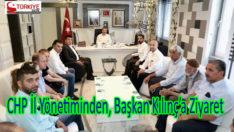 CHP İl Yönetiminden, Başkan Kılınç'a Ziyaret