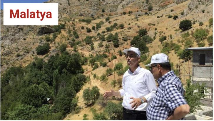 Doğu Anadolu Projesi (DAP) Bölge Kalkınma İdaresi Başkanı Adnan Demir, Arapgir'de incelemelerde bulundu.