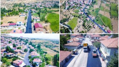 Malatya Büyükşehir Belediyesi Doğanşehir'de asfaltlama ve yol bakım-onarım çalışmaları yapıyor.