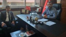 TÜRKAV'dan  MHP Malatya İl Başkanı Avşar'a  Ziyaret