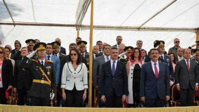 30 Ağustos Zafer Bayramı ve Türk Silahlı Kuvvetler Günü Düzenlenen Törenle Kutlandı