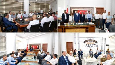 Selahattin Gürkan, Sivil Toplum Kuruluşu Temsilcileri ile Dernek Yöneticilerini kabul ederek kendileriyle bir süre görüştü.