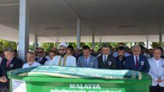 Vali Baruş, Malatya Gazeteciler Cemiyeti Başkanı Karaduman'ın Cenaze Törenine Katıldı