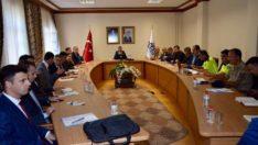 2019-2020 Eğitim Öğretim Yılında Alınacak Trafik Tedbirleri Konulu Toplantı Düzenlendi