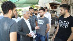 Güder Erdoğan'ın mitingi için Malatya'lılardan destek istedi