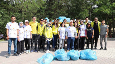 """Başkan Güder: """"Temiz toplum ve temiz çevre için el ele verelim"""""""