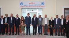 Bakan Selçuk ve Erdoğan'dan MTÜ Rektörü Karabulut'a ziyaret