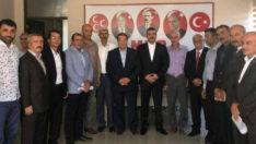 Meşale'nin Hamlelerine Karşı, 13 İlçe Başkanı Bülent Avşar'ın Yanında Olduklarını Açıkladılar.