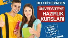 Malatya Büyükşehir Belediyesi Kültür ve Sosyal İşler Dairesi tarafından Üniversiteye Hazırlık Kursları açılacak