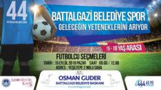 Battalgazi Belediye Spor Geleceğin Yeteneklerini Arıyor