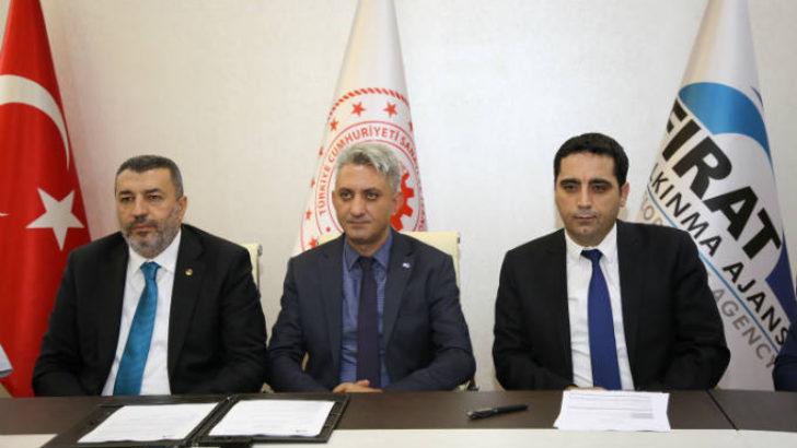 """Malatya'da Soğuk Zinciri ve Süt Toplama Merkezleri Fizibilite Çalışması"""" projesi imzalandı."""