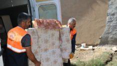 Elazığ belediyesi bir aile için daha umut oldu