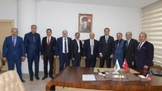 Muhtar Derneklerinden Büyükşehir Belediyesine ziyaret