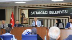 Battalgazi Belediye Meclisi Ekim Ayı 2. Bileşimini Gerçekleştirdi