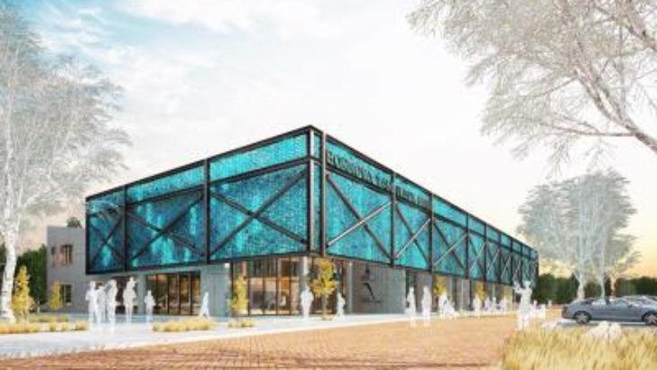 İzmir Bornova'da yüzme havuzunun temeli atılıyor