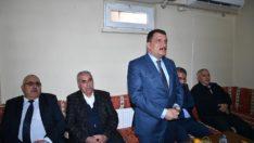Başkan Gürkan Darende'de ziyaret ve incelemelerde bulundu