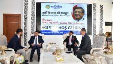 Hindistan Büyükelçisinin Belediye ziyareti
