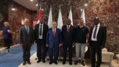 Malatyalı Hemşehrimiz Prof. Dr. Bayram Altan Gine Bissau Cumhuriyeti Cumhurbaşkanı Adayı ( Eski Başbakanı) Ve İletişim Bakanını Ağırladı
