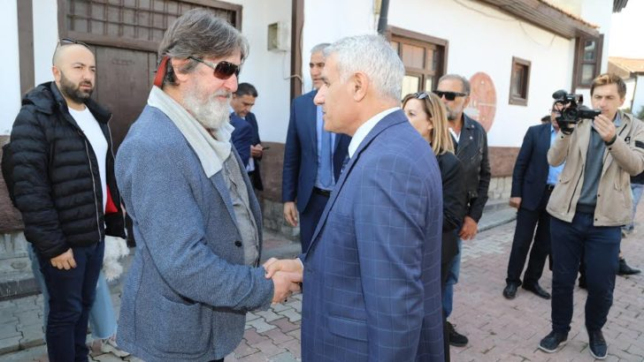 Film Festivali Eski Malatya'daki Sanat Sokağında Başladı