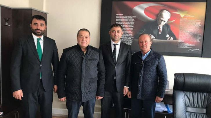 MHP Malatya  Milletvekili Fendoğlu , Fatih Lisesi Müdürü Fevzi Şahin'e Hayırlı Olsun Ziyaretinde Bulundu