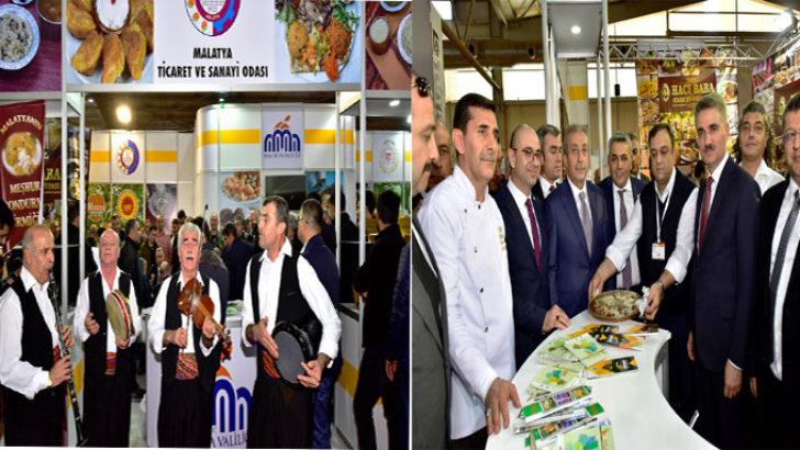 """Malatya, Diyarbakır """"Gurme 2019 Gıda ve Yöresel Lezzetler Fuarının"""" Onur Konuğu Oldu"""
