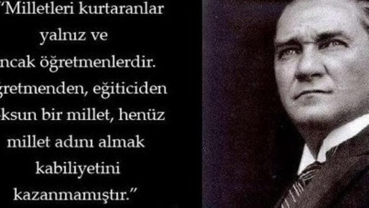 Malatya Türk Ocağı Başkanından öğretmenler günü mesajı