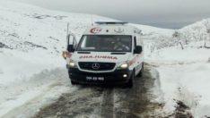 65 yaşındaki hastayı Battalgazi belediyesi ve 112 ekipleri kurtardı