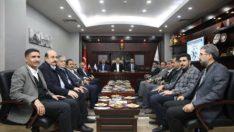 Malatya milletvekili Çakır'dan Şerifoğulları'na ziyaret
