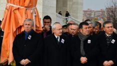 Kılıçdaroğlu Malatyalı şehidin cenazesine katıldı