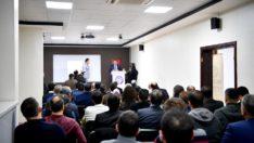 Gürkan:hizmet için eğitime çok önem veriyoruz