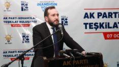 """""""AK Parti demek, ordunun arkasında olup Kandil'de durmak demektir"""""""