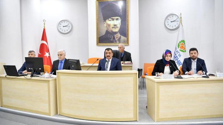 Ocak ayı meclis toplantısı sona erdi